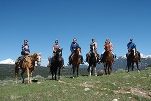 Geyser Whitewater - Raft & Horseback Combo Trip :: Whitewater experts on the legendary Gallatin River between Big Sky & Bozeman. Full/Half-Day trips with horseback riding. Great packages for the day for adults and kids.
