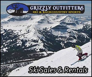 Grizzly Outfitters - sales & gear rentals : Low special rates on brand-name gear from Big Sky's leader in rentals and service. From bikes and trailers in summer to skis and snowboards in winter. Kids and adult sizes.