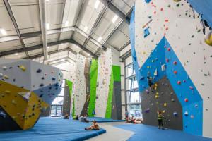 Spire Climbing Center - climbing fun in Bozeman