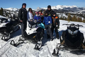 Snowmobile Rentals for Big Sky - Summit ATR