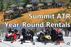 Summit ATR - ATV, UTV and Snowmobile Rentals