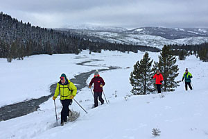 Big Sky Adventures & Tours - learn to X-C Ski