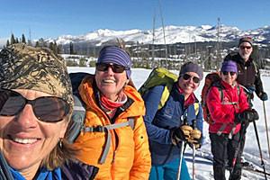 Big Sky Adventures & Tours - learn to X-C Ski