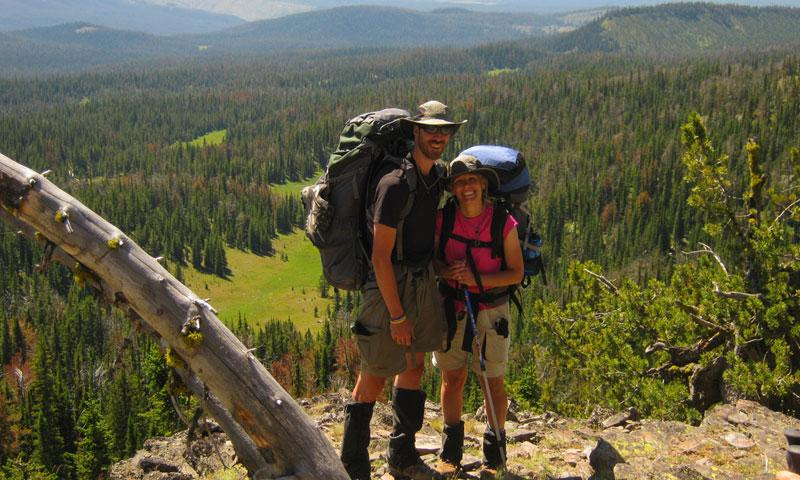 Backpacking along the East Fork of Speciman Creek