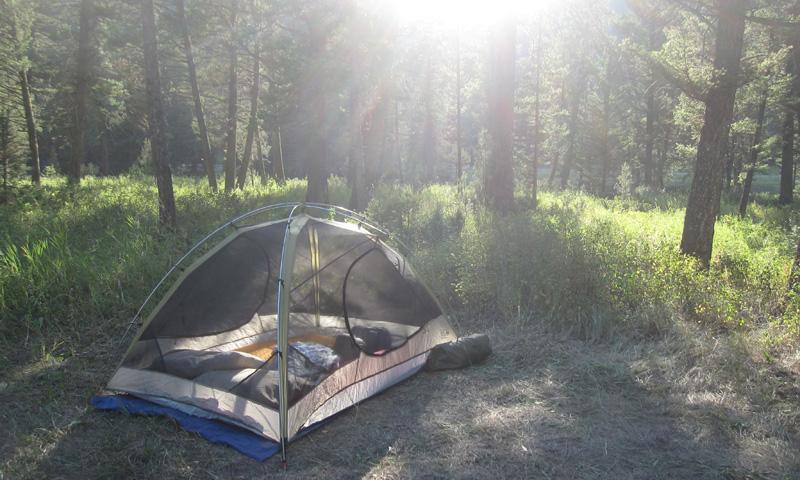 Red Cliff Campground near Big Sky Montana