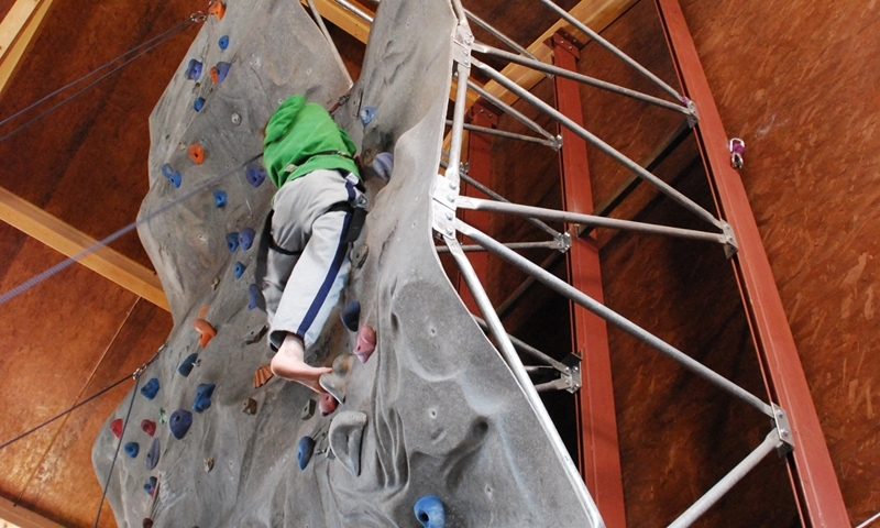 Big Sky Montana Climbing Indoor Gym