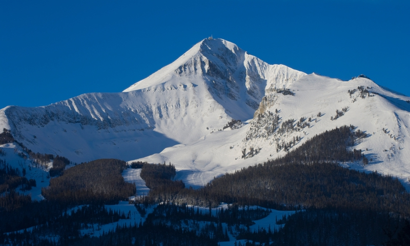 Big Sky Montana Resort Winter
