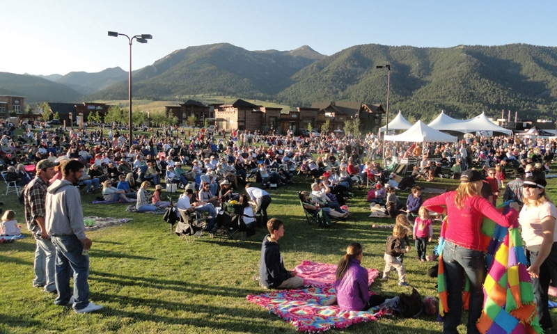 Music in the Mountains in Big Sky