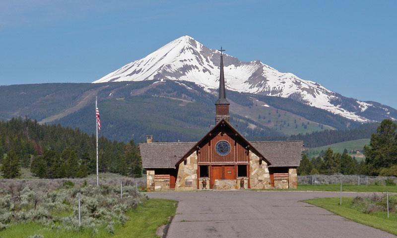Soldiers Chapel in Big Sky Montana