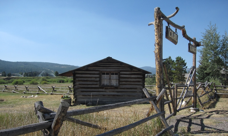 Historic Crail Ranch in Big Sky Montana