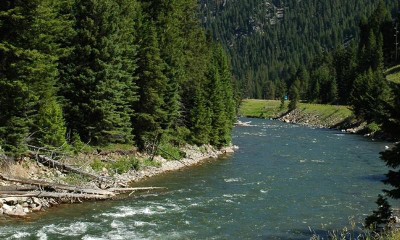 Gallatin River Big Sky Montana