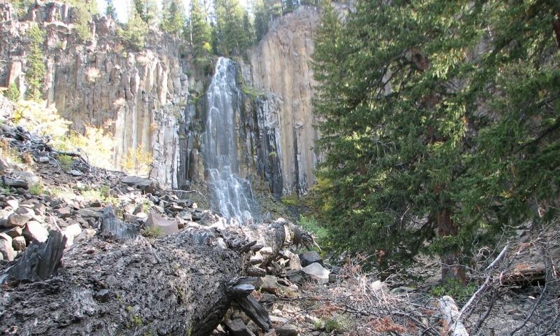 Palisade Falls Gallatin Range