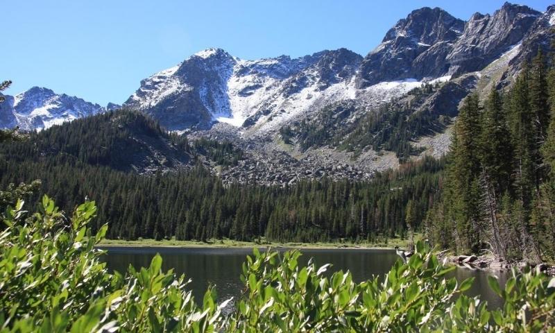 Mirror Lake in the Spanish Peaks