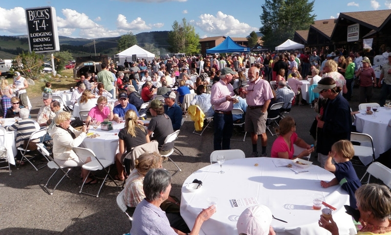 Bucks T4 Ranch Big Sky Montana Food Wine Festival Dining Entertainment