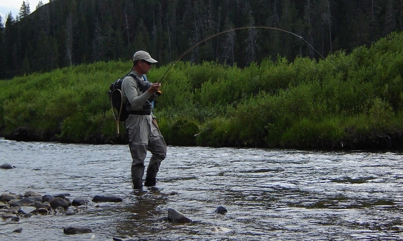 Fishing the Gallatin River in Montana