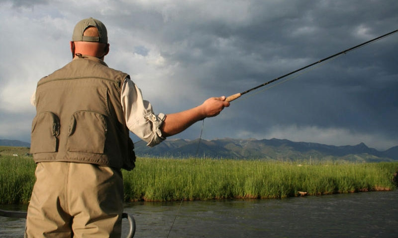 Fishing the East Gallatin River
