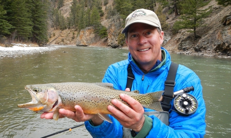 Gallatin river montana fly fishing camping boating for Gallatin fishing report