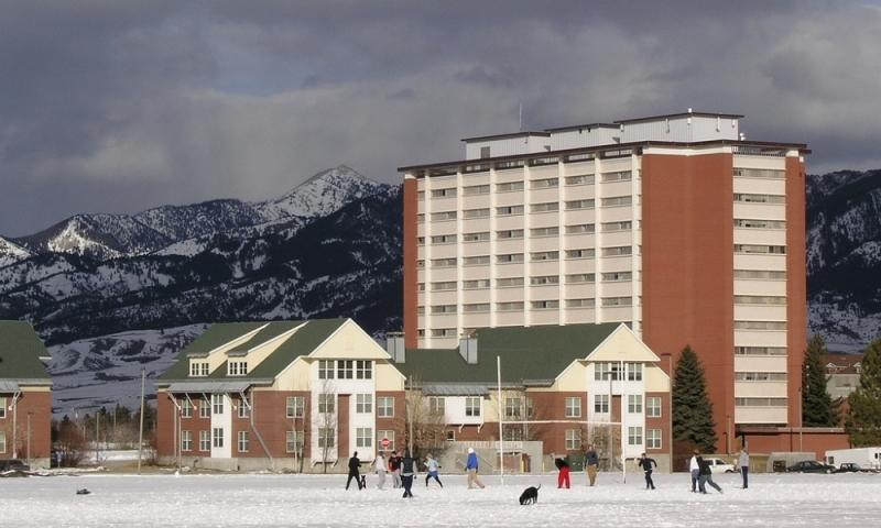 MSU in Winter