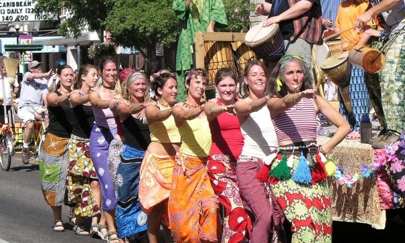 Bozeman Montana Sweet Pea Festival Parade