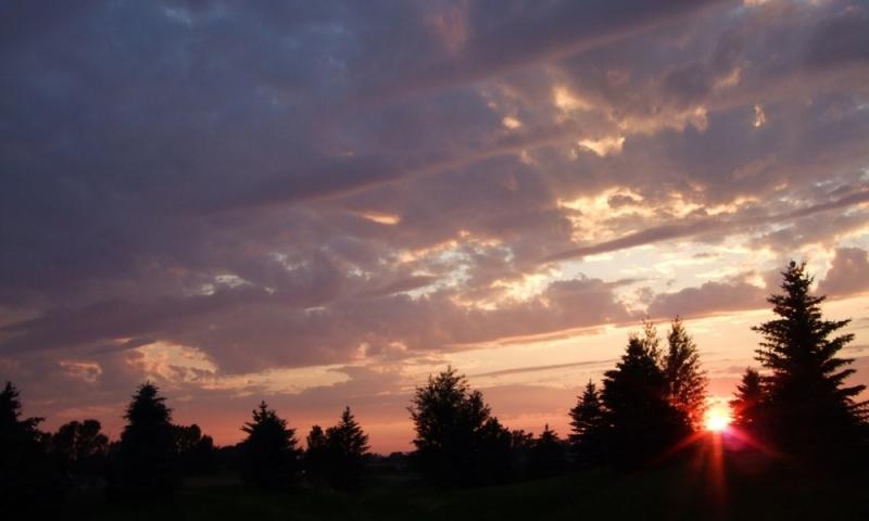 Bozeman Montana Sunset