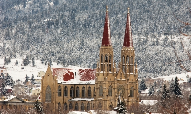 Helena Montana Rocky Mountain Cathedral