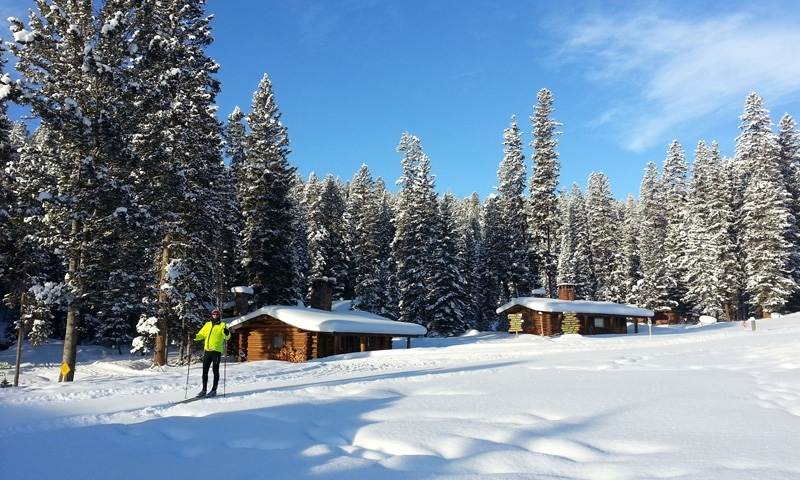Cross Country Skiing at Lone Mountain Ranch in Big Sky Montana