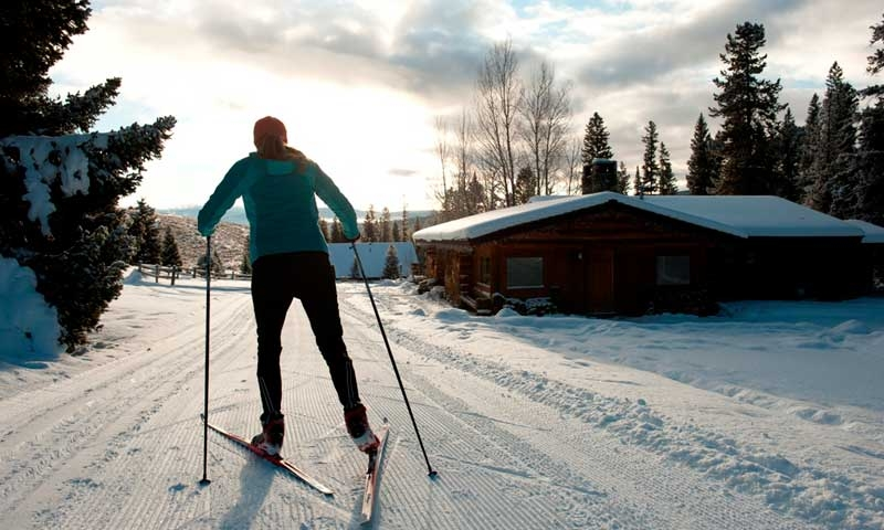 Cross Country Skiing at Lone Mountain Ranch