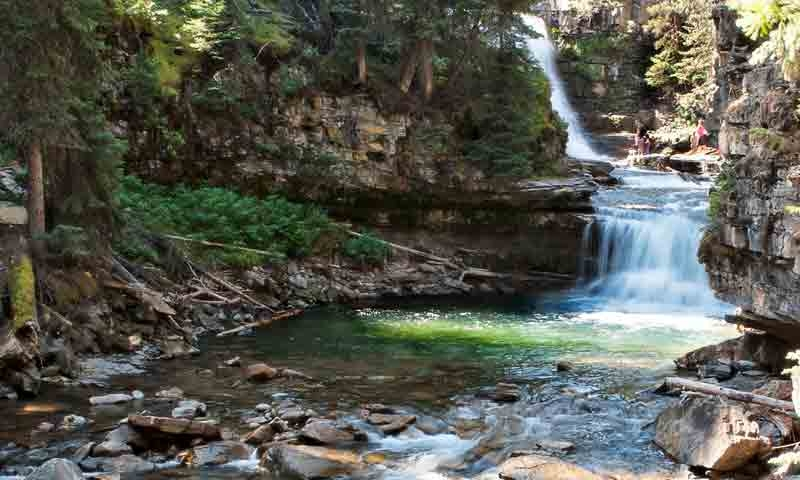 Ousel Falls in Big Sky Montana