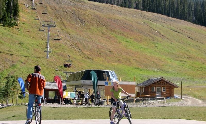 Mountain Biking at Big Sky Resort