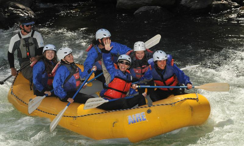 Whitewater Rafting the Gallatin River