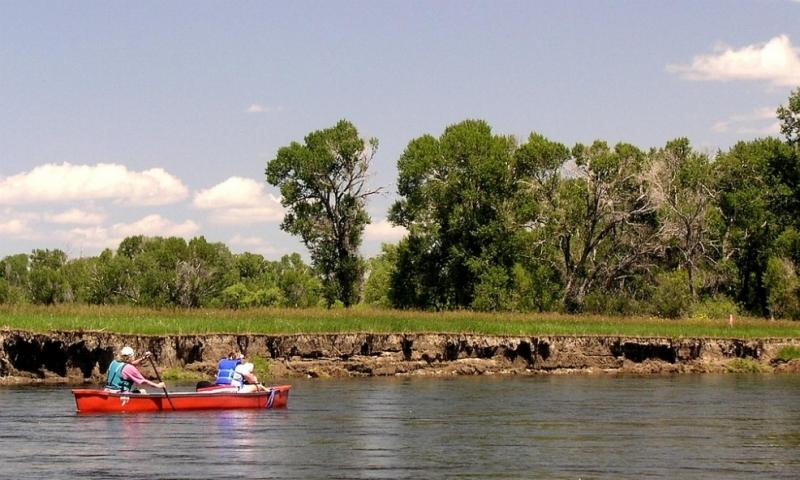 Canoeing Canoe Jefferson River Montana